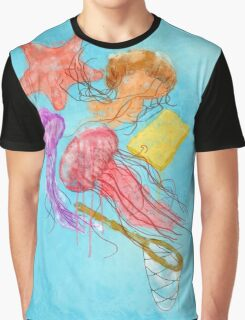 Realism on Jellyfish Fields Graphic T-Shirt