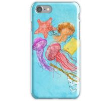 Realism on Jellyfish Fields iPhone Case/Skin
