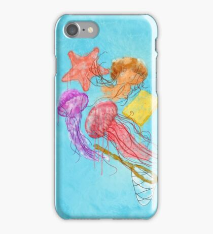 Realism on Jellyfish Fields iPhone Case/Skin