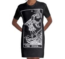 THE FOOL Tee - White Magick Edition Graphic T-Shirt Dress