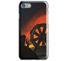 The sky had come crashing down. iPhone Case/Skin