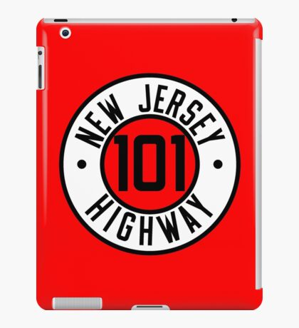 New Jersey Route 101 iPad Case/Skin
