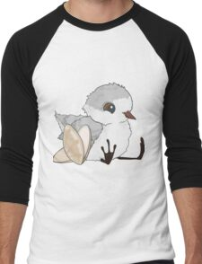 Piper - Baby Sandpiper with Shells Men's Baseball ¾ T-Shirt