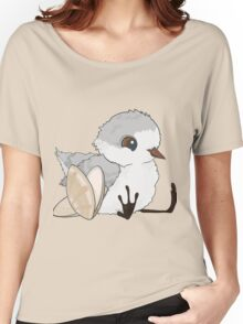 Piper - Baby Sandpiper with Shells Women's Relaxed Fit T-Shirt