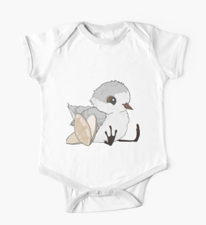 Piper - Baby Sandpiper with Shells One Piece - Short Sleeve
