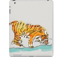 Thirsty Tiger iPad Case/Skin