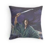 vagabond : kojiro Throw Pillow