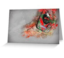 Mazda 787B Greeting Card