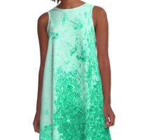 Earth Sweat Design (Lush Meadow Color) A-Line Dress