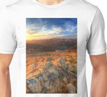 Looking north from The Bluff Unisex T-Shirt