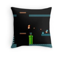 Mario Underworld Throw Pillow