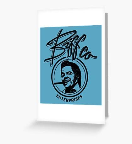 Biff Co. Greeting Card