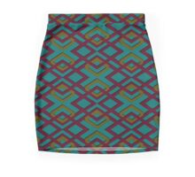 Native Circuit Mini Skirt