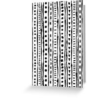 Ink Stripe Greeting Card