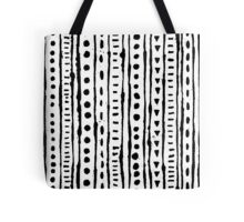 Ink Stripe Tote Bag