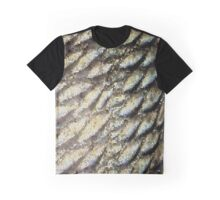 Redfish Scales & Stained Glass Graphic T-Shirt