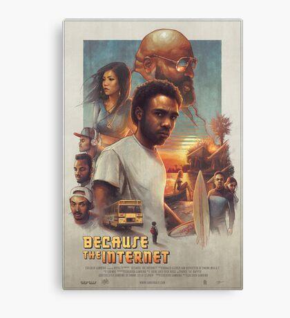 Childish Gambino Movie Poster Canvas Print