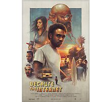 Childish Gambino Movie Poster Photographic Print