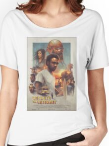 Childish Gambino Movie Poster Women's Relaxed Fit T-Shirt