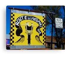 Route 66 Motorporium Canvas Print