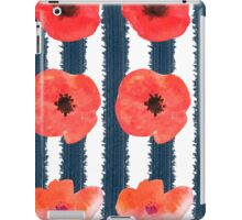 Poppies. Watercolor on paper iPad Case/Skin