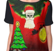 Merry Christmas - FLYING DUTCHMAN Chiffon Top