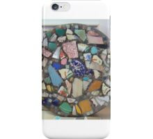 Blue Willow mosaic iPhone Case/Skin