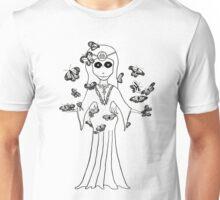 Ereshkigal, Mesopotamian Goddess of the Underworld Unisex T-Shirt