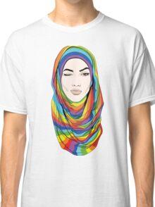 Rainbow Hijab Classic T-Shirt