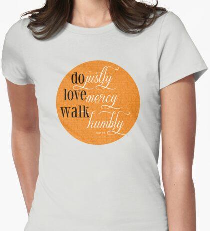 Do Justly | Micah 6:8 | Orange T-Shirt