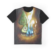 Glow Caps Graphic T-Shirt