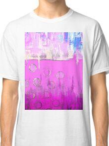 Pink Summer Horizon Classic T-Shirt