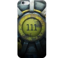 Fallout Vault 111 iPhone Case/Skin