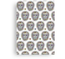 sugar skull hero Canvas Print