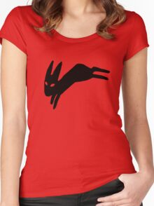 Black Rabbit Women's Fitted Scoop T-Shirt