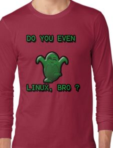 LINUX BRO Long Sleeve T-Shirt