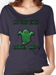 LINUX BRO Women's Relaxed Fit T-Shirt