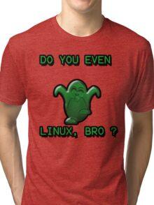 LINUX BRO Tri-blend T-Shirt