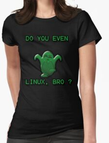 LINUX BRO Womens Fitted T-Shirt