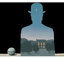 Magritte - Nature Mystery Photographic Print