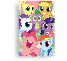 Spike's Birthday! Canvas Print