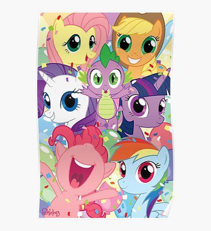 Spike's Birthday! Poster