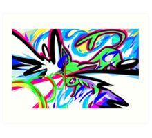 Shiny Espeon | Psybeam Art Print