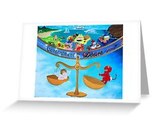 Contentment and Desire Greeting Card