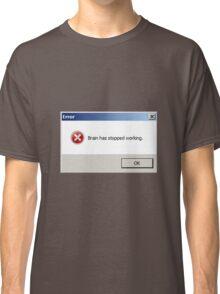 ERROR popup Classic T-Shirt