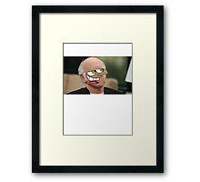 Schnozmo David Framed Print
