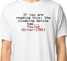 Error 1701 Classic T-Shirt