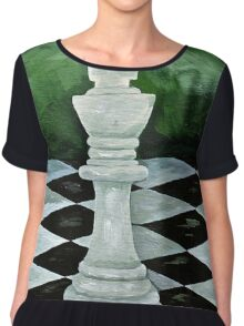 The King Stands Alone  Chiffon Top