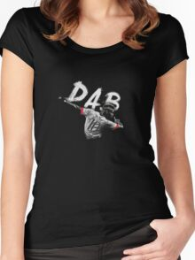 PAUL POGBA DAB Women's Fitted Scoop T-Shirt
