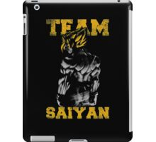 team saiyan iPad Case/Skin